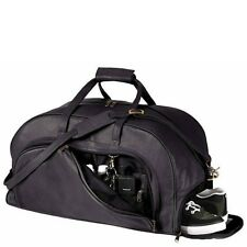 ROYCE LEATHER DUFFLE BAG WITH SHOE COMPARTMENT-NEW $199.00