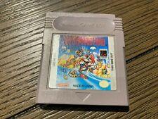 Super Mario Land Nintendo Game Boy GB Authentic Cartridge Tested *Read*