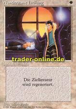 2x Wundersame Heilung (Death Ward) Magic limited black bordered german beta fbb