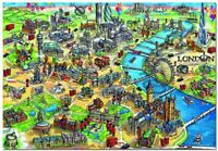 Educa London City Map 500pc Jigsaw Puzzle (pl)