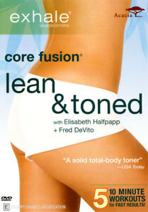 EXHALE CORE FUSION: LEAN AND TONED (2012) [NEW DVD]