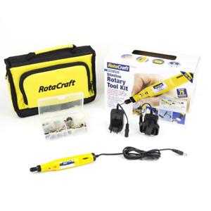 Rotacraft Slimline Variable Speed Rotary Tool Kit 091-199