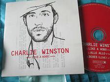 Charlie Winston – Like A Hobo Real World Records – CDRWSP2 Promo CD Single