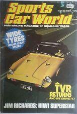 Sports Car World November 1975  TVR  BMW 3.0 CSI  Jim Richards