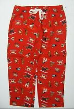 31638144ba8716 Old Navy Womens 3x Plus Multicolor Christmas Dogs Lounge Pajama Pants