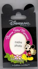 Disney Paris Mickey Mouse Bonne Fete Mamon French Mother's Day Photo Insert Pin