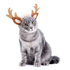 Christmas Pet Headband Xmas antlers Hat For Cat Headdress Grooming Accessories