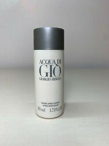 VINTAGE Acqua di Gio for Men Giorgio Armani After Shave Balm 50ml/1.7oz 50% Full