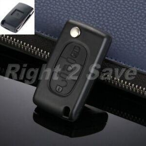 Flip Key 3 Buttons Remote Case Fob Shell Fitment For CITROEN C4 PICASSO C5 C6