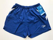 "Brooks Men's Running Shorts Size Large Royal Blue White 3"" Inseam Lined Flyaway"