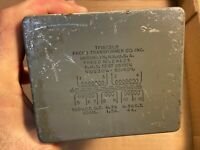 Vintage Freed Tube Amp Power Transformer 520v 90mA CT 6.3v 1.5A 6.3vCT 4A