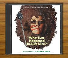 WHAT EVER HAPPENED TO AUNT ALICE? Gerald Fried RARE FILM SOUNDTRACK