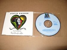 Stevie Wonder Keep Our Love Alive 3 Track cd Single 1990 Ex Condition