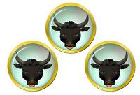 Bull's Tête Marqueurs de Balles de Golf