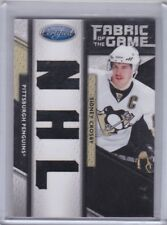 Sidney Crosby 11/12 Panini Certified Fabric Of The Game NHL Jersey /25