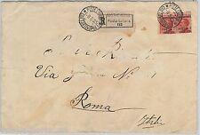 61468  - LEVANTE: COSTANTINOPOLI - STORIA POSTALE: VARIETA' su BUSTA  1923