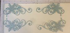 Cricut December 25th  4  5 Inch Wide Snowflake Flourish Die Cut Embellishment