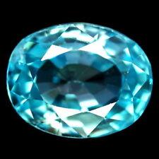 TOP ZIRCON : 3,83 Ct Natürlicher Blau Zirkon aus Kambodscha
