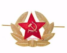 Russian Military Badge Army USSR Soviet Red Star hat Soldier Pin Kokarda on cap