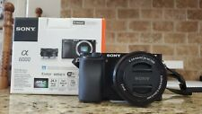 Sony Alpha A6000 24.7 inch Mirrorless Digital Camera - Graphite (ILCE6000L/H)