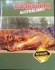 2006 Dangerous Australians shark snake jellyfish crocodile octopus Stamp Pack