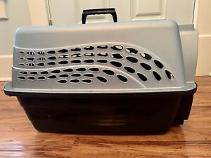 """Pet Carrier Travel Crate, 23 """" x 16.5"""" x 13"""" Portable Cat Or Dog Kennel"""