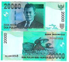 L'Indonesia Indonesia 20000 20.000 rupia 2004/2008 UNC P 144 e