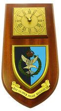 THE GLIDER PILOT REGIMENT CLASSIC HAND MADE TO ORDER REGIMENTAL WALL CLOCK
