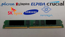 1GB DDR3-1066 PC3-8500U 1Rx8 DDR3 SDRAM Low Profile  1.5V Desktop Memory