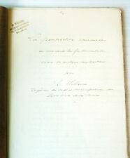 La perspective raisonnée, G. Willems, ingénieur à Malines, manuscrit technique