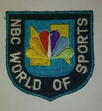 Brand new NBC WORLD OF SPORTS embroidery t shirt jacket iron on patch