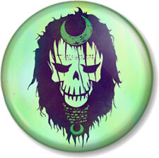 Suicide Squad Enchantress Skull 25mm Pin Button Badge DC Comics Antihero Movie