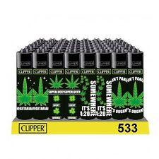 SET DI 4 ACCENDINI CLIPPER AMSTERDAM 420 Weed Da Collezione Lighter Gift Box