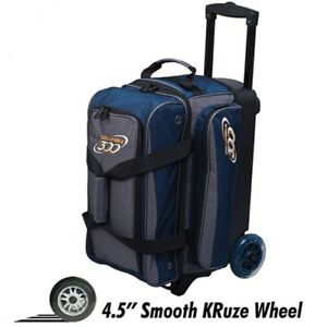 Columbia ICON 2 Ball Roller Bowling Bag Color Navy/Charcoal