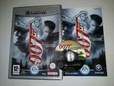 Gamecube JAMES BOND 007 EVERYTHING OR NOTHING * Nintendo Cube Wii Classic Game *