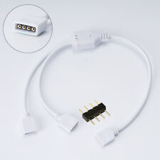 2Pin 4Pin 5Pin LED Strip RGB RGBW Adapter Clip Connector Wire Extension Cable