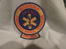 Vintage NREMT with Rocker Paramedic Patch - Never Used