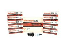 NEW Motorcraft Spark Plugs Set of 10 AS42C Chrysler Dodge Plymouth Chevy 1965-89