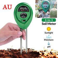 3 in1·PH·Tester Soil Water Moisture Light Test Meter Kit For Garden·Flower-Plant