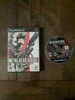 Metal Gear Solid 2: Sons of Liberty, CASE&GAME, (Sony PlayStation 2, 2001)