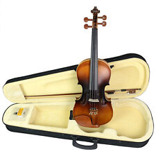 NAOMI VIOLIN 4/4 Basswood Acoustic Violin Fiddle + Case + Bow + Rosin -2-130#