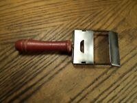 "Vintage Hand Held Adjustable Blade Vegetable Cheese Slicer Kitchen Tool  6-5/8"""