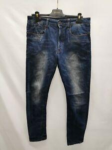 G-Star Originals Raw Jeans Hose Blau Größe W33/L32 Herren YH010