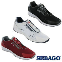 Sebago Cyphon Sea Sport Mens Slip On Mesh Sports Fitness Running Trainers Shoes