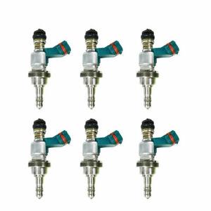 6pcs Fuel Injectors 23250-31020 23209-31020 Fit for 2006-2013 Lexus GS300 IS250