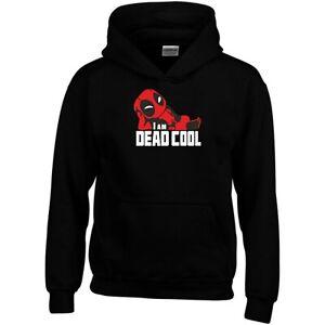 Deadpool Hoodie I Am Deadcool Iron Man Hulk Fans Xmas Gift Men Sweatshirt Top