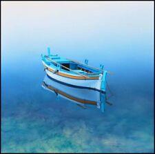 Croatian beaches rowboats Coastal wall art beach house living rooms decor harbor