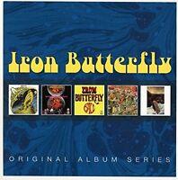 IRON BUTTERFLY - ORIGINAL ALBUM SERIES  5 CD NEU