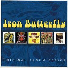 IRON Butterfly-ORIGINAL ALBUM SERIES 5 CD NUOVO