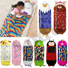 2021 NEW Large Size Kids Sleeping Bag Pillow Stuffed Toy Play Camping 135-180cm